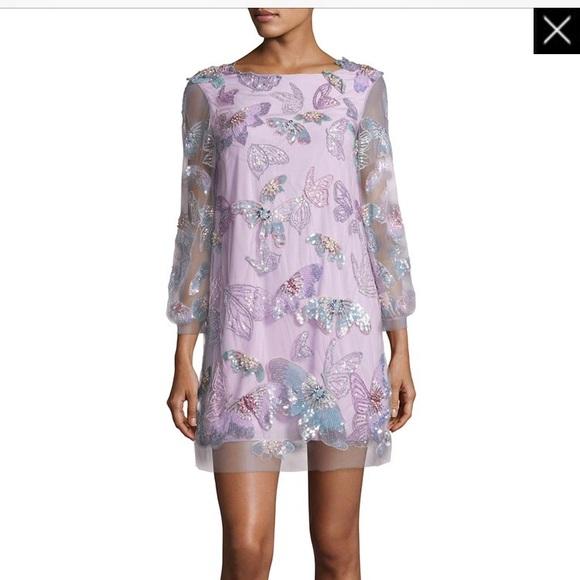 marchesa Notte Dresses & Skirts - Marchesa Notte Butterfly  tunic cocktail dress